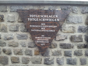 plaquette homosexuelen Mauthausen
