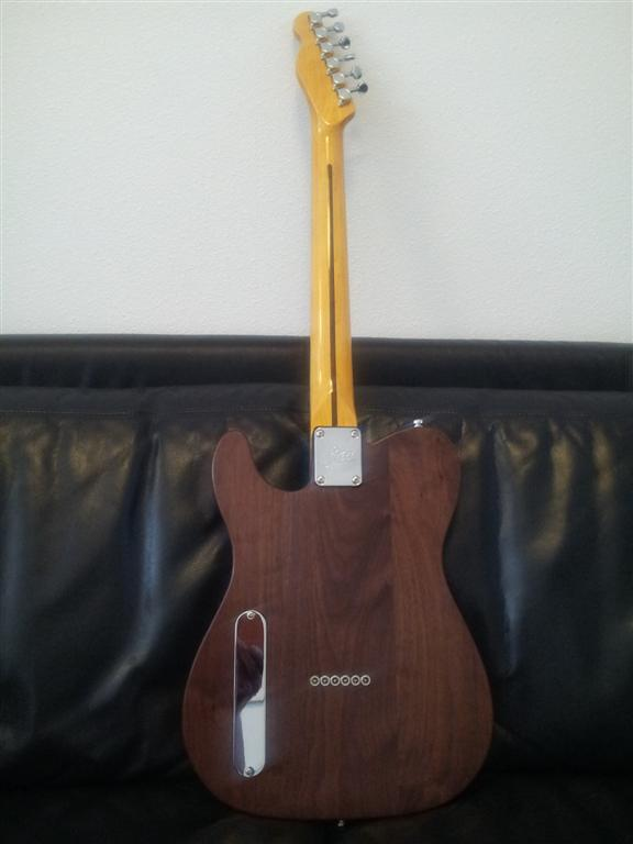 Back Walnut Cabronita & Mighty Mite Vintage neck