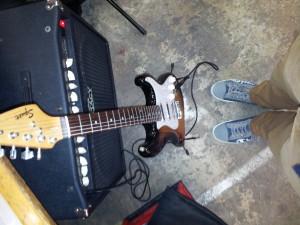 Guitarshow Veenendaal 2014 Footselfie
