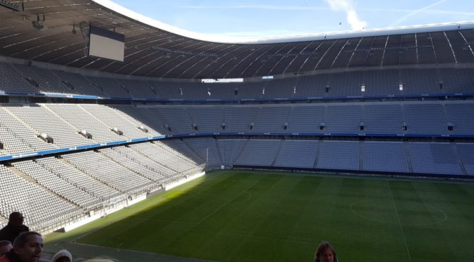 Stadion Allianz vanaf tribune
