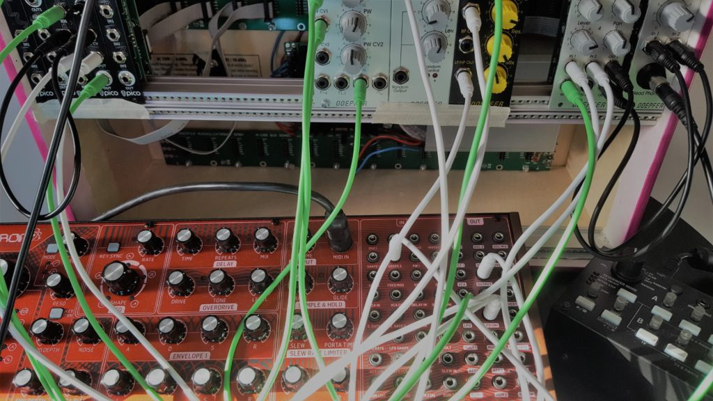 The start of Eurorack modulair synth