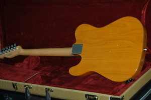 telecaster squier affinity butterscotch blonde back side