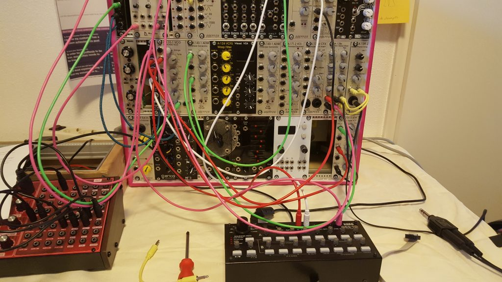 Eurorack modulair synth The next step total setup Doepfer