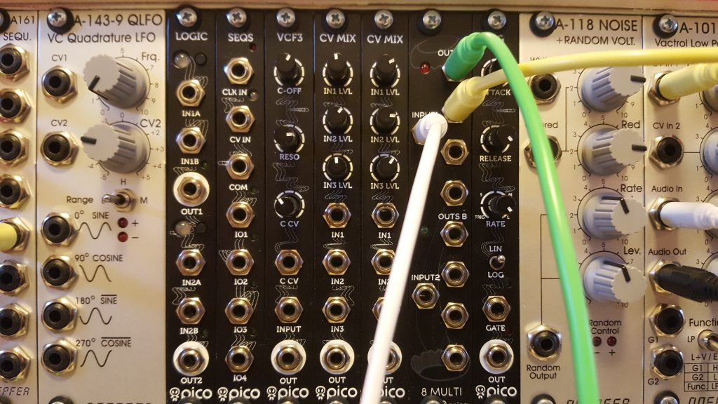 Eurorack modulair synth The next step Erica Synth