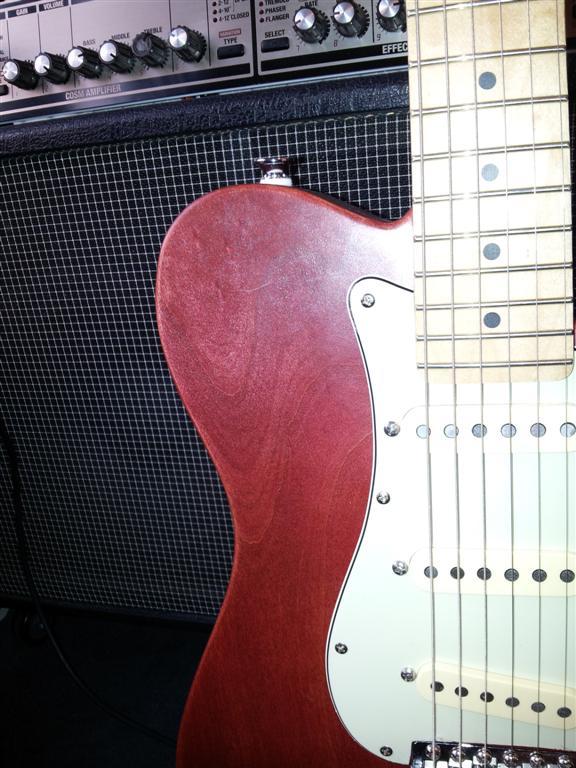 Alder tele strat hybrid guitar