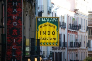 Indo in Madrid