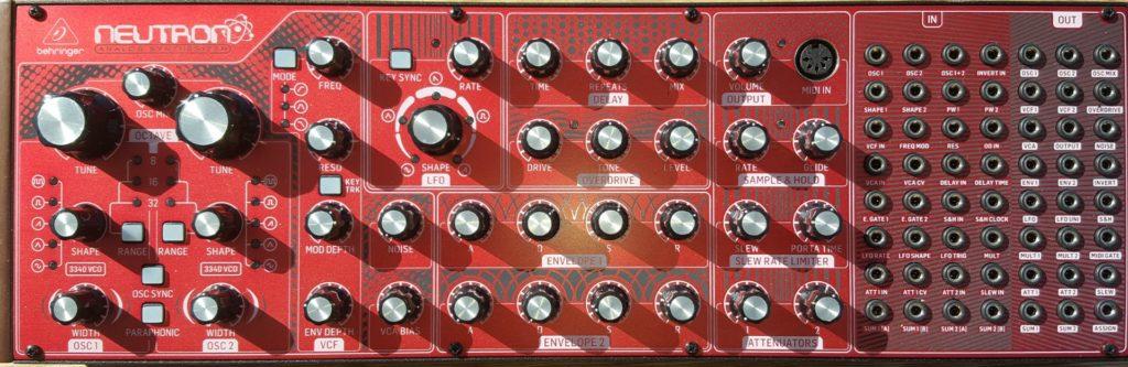 Behringer Neutron Semi modulair Eurorack
