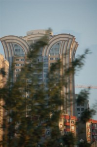 Moderne gebouwen in Istanbul