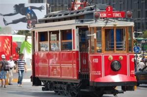 Tram grand rue de Pera